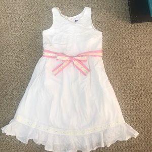Girls 100% Cotton Dress by Genuine Kids OSHKOSH